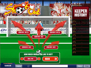 Play Penalty Shootout Arcade Game at Casino.com UK
