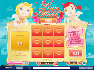 Play Love Match Scratch Online at Casino.com Canada